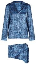 Stella-McCartney-Lingerie STELLA MCCARTNEY LINGERIE Poppy Snoozing leopard-print silk-blend pyjama set