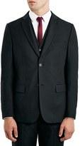Topman Black Slim Fit Suit Jacket