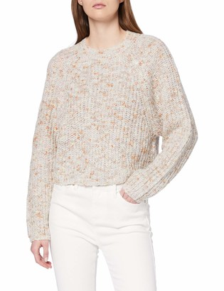 New Look Women's OP NEPPY RAGLAN CROP JUMPER Sweater