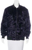 Nomia Velvet Bomber Jacket