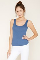 Forever 21 High-Back Ribbed Knit Tank