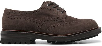 Church's Round Toe Suede Brogues