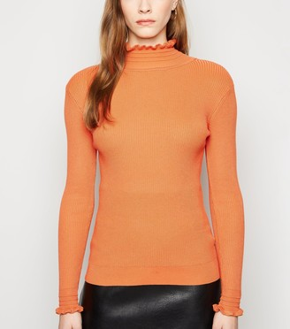 New Look Sunshine Soul Bright Ribbed Jumper