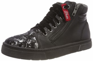 S'Oliver Girls' 43400-31 Hi-Top Trainers