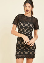 At Any Date Lace Dress in S