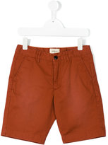 Bellerose Kids faded chino shorts