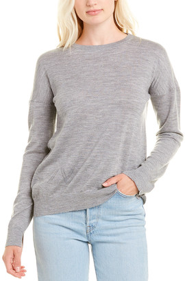 Zadig & Voltaire Cicy Patch Wool Sweater