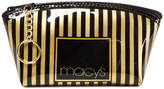Macy's Striped Makeup Bag, Only at