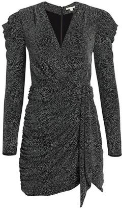 Jonathan Simkhai Glitter Jersey Mini Dress