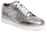 Jimmy Choo Women's Miami Glitter Sneaker