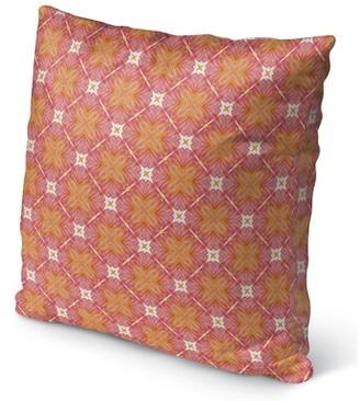 "Wexford Ivy Bronx Indoor/Outdoor Throw Pillow Ivy Bronx Size: 16"" H x 16"" W x 6"" D"