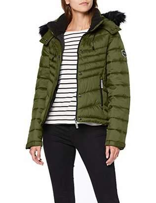 Superdry Women's Fuji Slim 3 in 1 Jacket,8 (Size: X-Small)