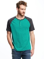 Old Navy Raglan-Sleeve Henley for Men