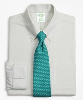 Brooks Brothers BrooksCool Milano Slim-Fit Dress Shirt, Non-Iron Stripe