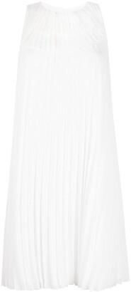 Emporio Armani Sleeveless Pleated Dress