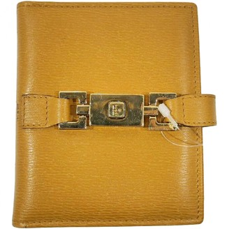 Gucci Gold Leather Small bags, wallets & cases