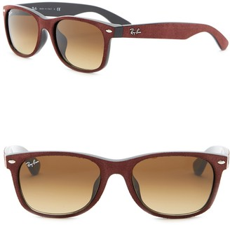 Ray-Ban 55mm Textured Wayfarer Sunglasses