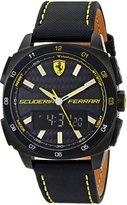 Ferrari Men's 0830170 Aero Evo Analog-Digital Display Watch