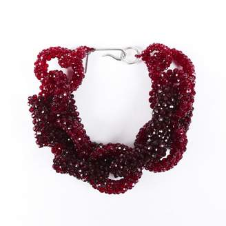 Dries Van Noten \N Red Silver Plated Necklaces