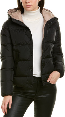 Moncler Lena Quilted Down Coat
