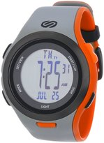 Soleus Men's SR010070 Ultra Sole Digital Dial with and Orange Polyurethane Strap Watch