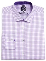 English Laundry Check Classic Fit Button Down Dress Shirt