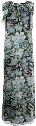 P.A.R.O.S.H. floral print maxi dress