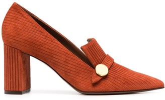 L'Autre Chose Pointed-Toe Loafers