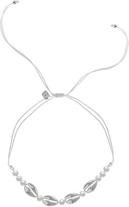 GABIRIELLE JEWELRY Silver 6Mm Pearl Choker Necklace