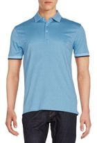 Saks Fifth Avenue Mini Diamond Polo Shirt
