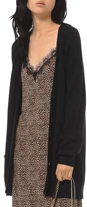 MICHAEL Michael Kors Shaker Rib-Knit Cardigan