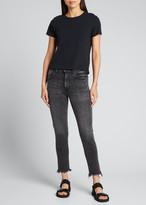 Moussy Vintage Westcliffe Cropped Skinny High-Rise Jeans