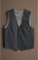 Johnston & Murphy Herringbone Vest