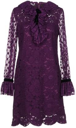 Philosophy di Lorenzo Serafini Purple Lace Dress for Women