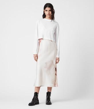 AllSaints Benno Nubila 2-In-1 Dress