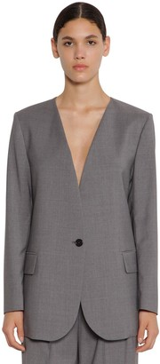 MSGM Cool Wool Blazer