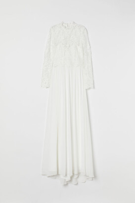 H&M Lace Wedding Dress - White