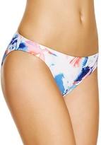 Vince Camuto Watercolor Floral Classic Bikini Bottom