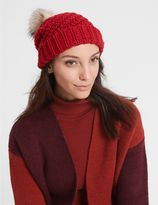 Marks and Spencer Fur Bobble Winter Hat