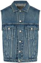 Balenciaga Button-through denim gilet