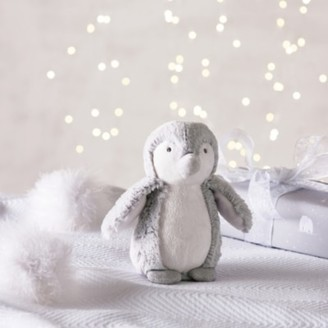 The White Company Snowy Penguin Small Soft Toy, Grey, One Size
