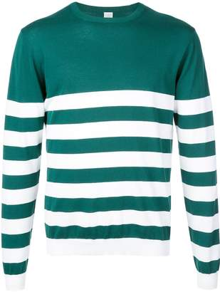 Eleventy horizontal striped jumper