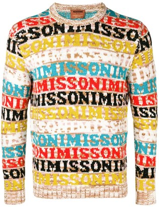 Missoni Logo Knitted Sweater