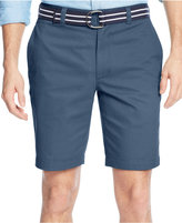 Club Room Men's Estate Flat-Front Shorts, Only at Macy's