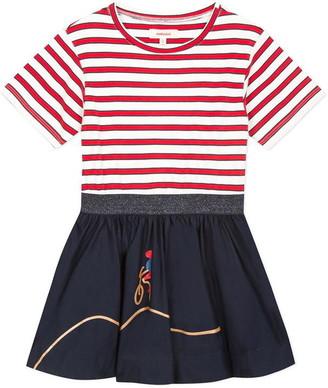 Catimini Two-Material Dress