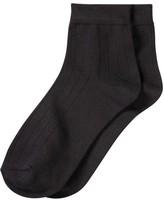 Joe Fresh Women's 2 Pack Quarter Height Socks, Print 1 (Size 9-11)