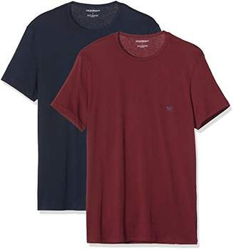 Emporio Armani Men's 2-Pack T-Shirt, (Size: )