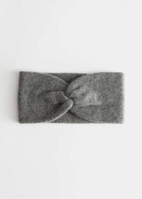 And other stories Cashmere Twist Knot Headband