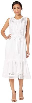 Lucky Brand Sophia Dress (Lucky White) Women's Dress