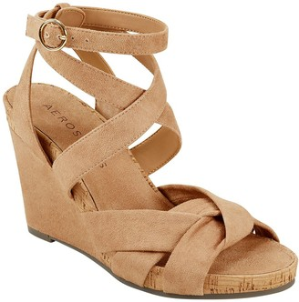 Aerosoles Platform Wedge Sandals - Phoenix